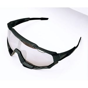 Contemporary Wrap Sunglasses with Mirrored Lenses